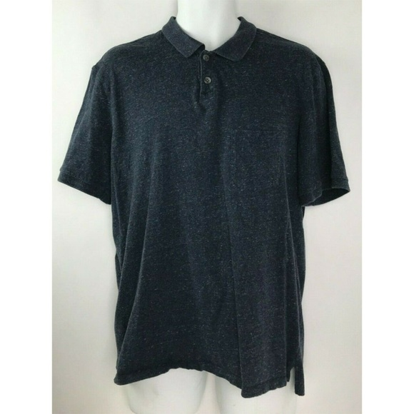 Vince Other - Vince Gray Heather Stretch Short Sleeve 100% XL